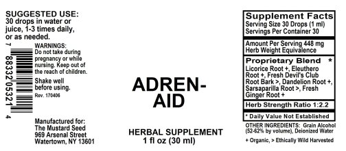 4005321 Adren Aid Liquid Extract