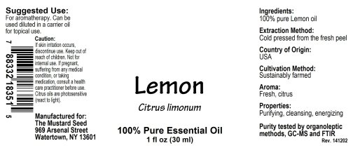 4018351 Lemon Essential Oil