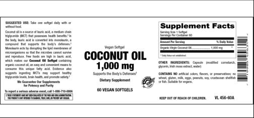 Coconut oil vitamer