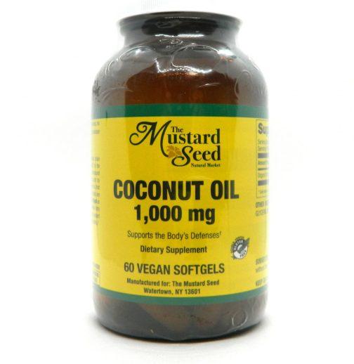 MS Coconut Oil Vitality 60ct