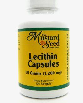Lecithin Capsules