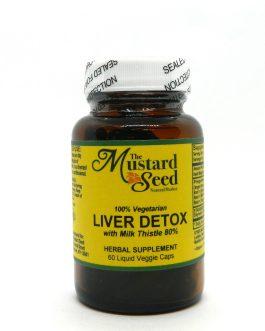 Liver Detox With Milk Thistle