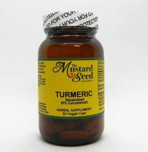 MS Turmeric 60 vitality