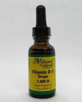 Liquid Vitamin D-3 2000 IU