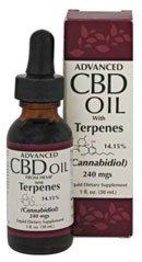 Smart Organics CBD Oil + Terpenes