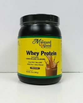 Mustard Seed Whey Protein – Natural Chocolate Flavor