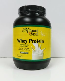 Mustard Seed Whey Protein – Unsweetened Unflavored