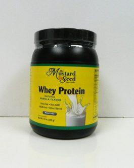Mustard Seed Whey Protein – Natural Vanilla Flavor
