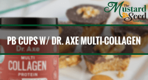 Chocolate Coconut Peanut Butter Cups with Dr. Axe Multi-Collagen
