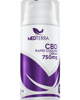 MedTerra 750mg CBD Cream