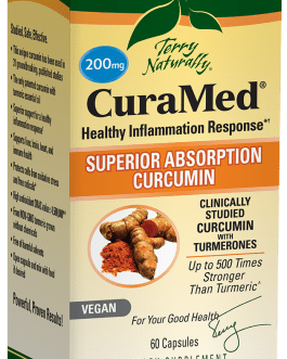 Terry Naturally CuraMed 200mg 60 capsules