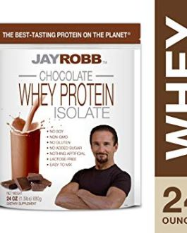 Jay Robb Chocolate Whey Protein Isolate