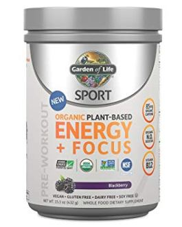 Garden of Life Sport Energy & Focus (Blackberry)