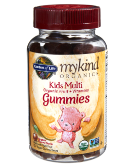 Garden of Life Mykind Kid's Multi Gummies (Cherry Flavor)