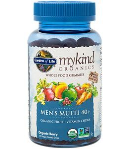 Garden of Life Mykind Men's 40+ Multi Gummies