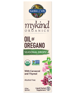 Garden of Life Mykind Oil of Oregano Seasonal Drops