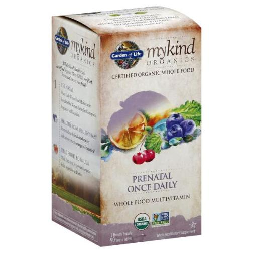 Prenatal Once Daily 90ct Front