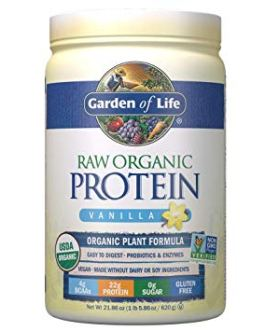 Garden of Life Raw Organic Protein Powder (Vanilla)