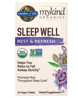 Garden of Life Mykind Sleep Well Tablets