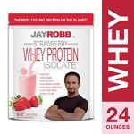 Jay Robb Strawberry Whey Protein Isolate