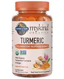 Garden of Life Mykind Turmeric Inflammatory Response Gummy