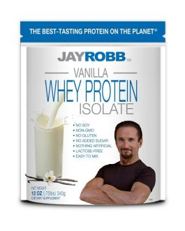 Jay Robb Vanilla Whey Protein Isolate
