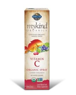 Garden of Life Mykind Vitamin C Spray (Cherry Tangerine)