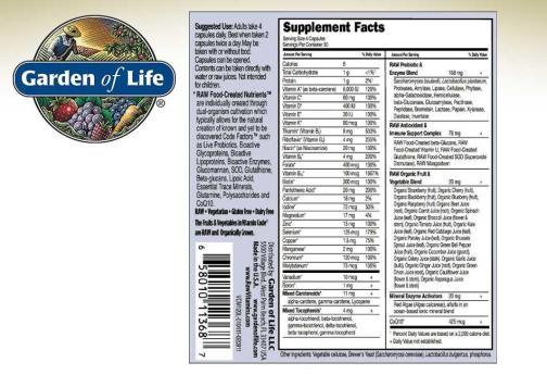 Vitamin Code Mens 120ct Back