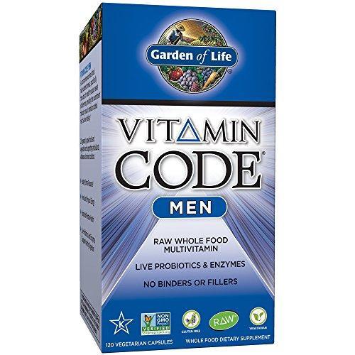 Vitamin Code Mens 120ct Front