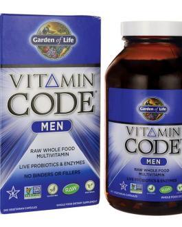 Garden of Life Vitamin Code Men's Multivitamin