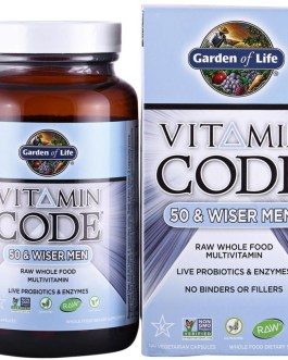 Garden of Life Vitamin Code 50 & Wiser Men