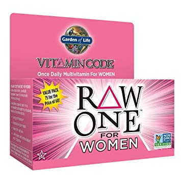 Vitamin Code Womens Raw One 75ct Front2