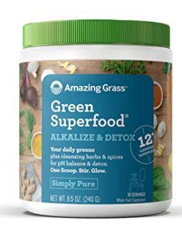 Amazing Grass Green Superfood Alkalize & Detox