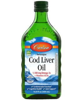 Carlson's Cod Liver Oil (Natural)