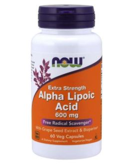 Now Alpha Lipoic Acid 600mg