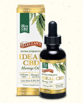 Barleans Extra Strength Ideal CBD Oil