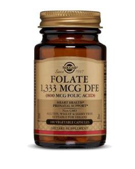 Solgar Folate 800mcg (Folic Acid)