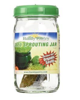 Handy Pantry Sprouting Jar (Quart)