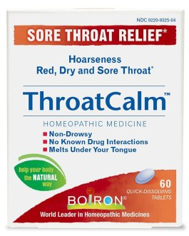 Boiron ThroatCalm