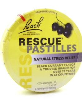 Bach Rescue Pastilles (Black Currant)