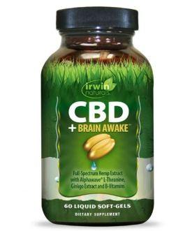Irwin Naturals CBD + Brain Awake