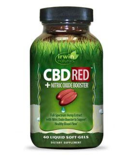 Irwin Naturals CBD RED + Nitric Oxide Booster
