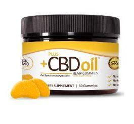 CV Sciences CBD Oil Gummies (Citrus Punch)