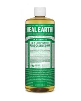 Dr. Bronner's Almond Castile Liquid Soap (32oz)
