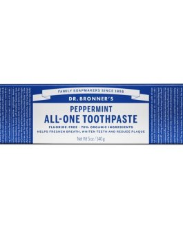 Dr. Bronner's All-One Toothpaste (Peppermint)