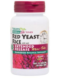 Nature's Plus Red Yeast Rice Extended Release Mini Tabs