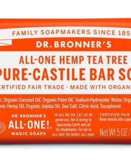 Dr. Bronner's All-One Hemp Pure Castile Bar Soap