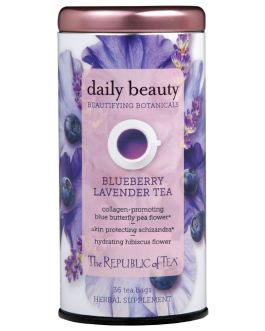 Daily Beauty Blueberry Lavender Tea – The Republic of Tea