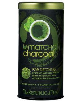 U-Matcha Charcoal – The Republic of Tea