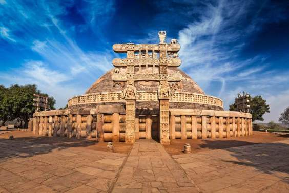 Image result for sanchi stupa best tourist places in India